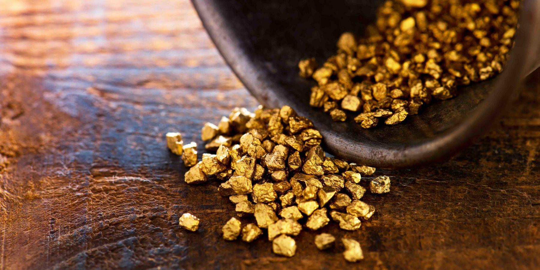 Kurzgeschichte des Goldes